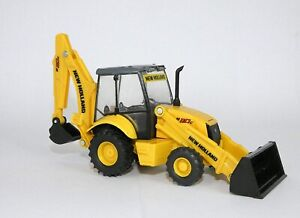Tractopelle NEW HOLLAND B110 C Dimensions: 16.5 x 4.8 x 6 cm,NEW32143, échelle,N