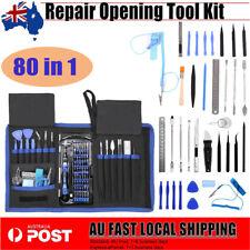 80 in 1 Repair Opening Tool Kit Screwdriver Set For Phones iPad PC Electronics