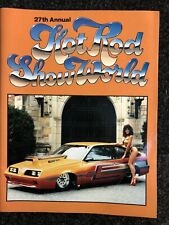 27th Annual Hot Rod Show World Program Book, Features Girls of Hot Rod World