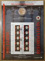 Numisblatt 2 / 2017 Luther 20 € 925 Silber Münze Gedenkmünze Bestzustand