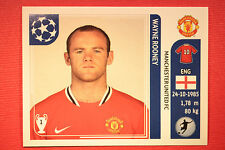 PANINI CHAMPIONS LEAGUE 2011/12 N 157 ROONEY MAN UNITED WITH BLACK BACK MINT!