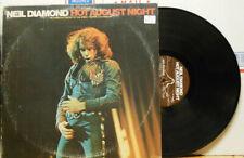 Neil Diamond Hot August Night Double VINYL LP RECORD VG+!