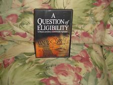 A Question of Eligibility (DVD) Is Obama's presidency constitutionally legitimat