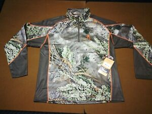 Browning Hell's Canyon Speed MHS 1/4 Zip Pullover Base XL Free Shipping