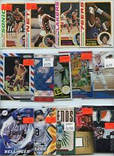 HUGE INVENTORY CLEARANCE ROOKIE JERSEY SET INSERT SPORTS CARD COLLECTION LOT $$