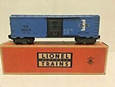 LIONEL O SCALE POSTWAR 6464-475 BOSTON & MAINE BOXCAR W/ORIG.BOX