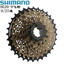 Shimano Altus CS-HG20-9 Speed 12-32T Mountain Bike Bicycle Cassette Brown