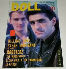 Doll 88 Japan Punk Magazine Iggy Pop Joe Strummer Woodentops Loyd Cole lp cd 45