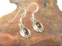 CARNELIAN    Sterling  Silver  925  Gemstone  Earrings