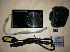 Samsung ST500 Digital Camera 12.2MP 3.0 inch LCD - Black