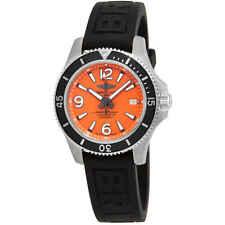 Breitling Superocean 42 Chronometer 500m Orange Dial Men's Watch A17366D71O1S1