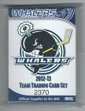 2012/13 Plymouth Whalers Team Issued Card Set RYAN HARTMAN