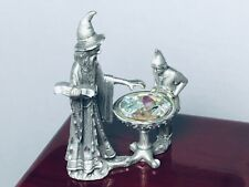 Vintage Masterworks 1989 Pewter The Sorcerer's Apprentice Wizard Figurine