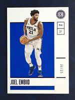 Joel Embiid 2019-20 Panini Encased /35 # Philadelphia 76ers