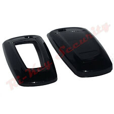 FOB Shell Cover For BMW Smart Key Remote Hard Case Stove Varnish Paint Black