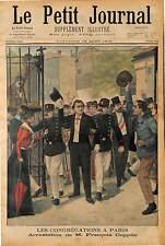 ARRESTATION Lerolle  député de Paris Coppée Gaston Méry CONGRÉGATIONS 1902