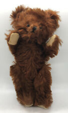 "10"" ANTIQUE 1930s GUND TEDDY BEAR CINNAMON MOHAIR, GREAT CONDITION  VINTAGE"