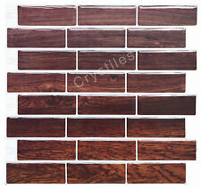 "Crystiles® Peel&Stick Self-Adhesive Tiles, Item# 91010835, 10""X10"", Set of 6"