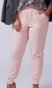 Lane Bryant Jogger Pants Womens Plus Size 18//20 26//28 Blue White Geo Print