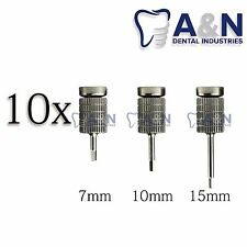 10 Hand Hex Drivers 1.25 mm for Abutment Dental Implants Free Shipping!