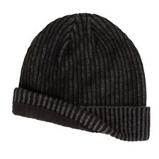Men's Van Heusen Fleece-Lined Ribbed Beanie Black