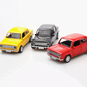 Vintage Lada VAZ-2101 1:36 Scale Car Model Diecast Gift Toy Vehicle Collection