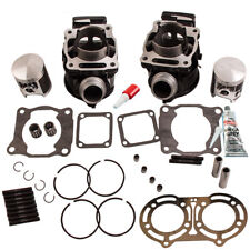 Pour Yamaha Banshee 350 Std. Cylinder Top End Kit w/ Piston Gasket Rings 87-06