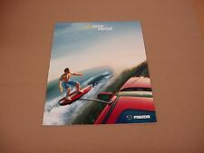 2002 Mazda Protege DX LX ES sales brochure 18 page dealer literature