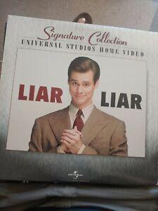 """Liar Liar"" Signature Collection Laserdisc LD - Jim Carrey. VERY GOOD"