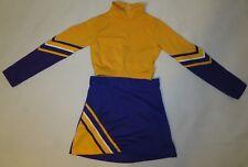 Authentic 2 Piece girls Cheerleader Uniform