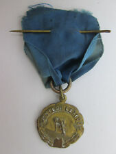 Vintage 1937 Pole Vault Medal 1st Class A  Western League  LOTS OF WEAR