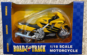 Road and Track Maisto 1:18 Scale Honda CBR Motorcycle NIB