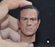 1:6 Men in Black Tommy Lee Jones Head Sculpt Male Head F 12'' Figure Body