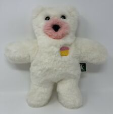 Vermont Teddy Bear Company RARE 2010 Cupcake Scented Plush Stuffed Teddy Bear