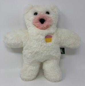 "Vermont Teddy Bear Company 2010 Cupcake Scented Plush Stuffed Teddy Bear Toy 13"""
