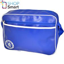 CHELSEA FC BLUE MESSENGER BAG OFFICIAL LICENSED FOOTBALL SOCCER CLUB TEAM NEW