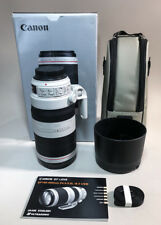 Canon EF 100-400mm f/4.5-5.6L IS II USM Lens with Case and Lens Hood - MINT