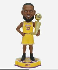 2020 LeBron James Trophy Bobblehead NBA Champion Los Angeles Lakers Finals LA