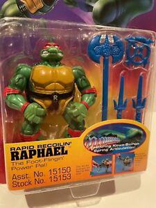Teenage Mutant Ninja Turtles TMNT Raphael Coil Force Rapid Recoilin Figure