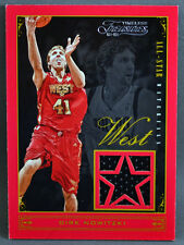 12-13 Panini Timeless Treasures Dirk Nowitzki ALL STAR JERSEY #82/149 2012 2013