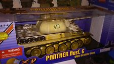 THE  ULTIMATE SOLDIER 1/18 WWII GERMAN PANTHER AUSF.G WINTER TANK - NIB (Rare)