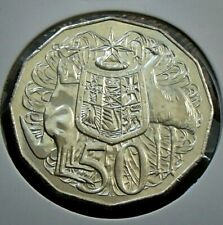 2012 Australia Uncirculated Fifty 50 Cent Coin - Elizabeth II - Coat of Arms