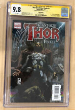 Thor: Giant-Size Finale #1 CGC 9.8 SS Signed by Chris Hemsworth Auto PERFECT SIG