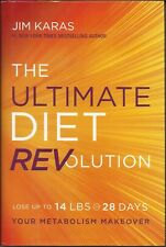 The Ultimate Diet REVolution by Jim Karas (2015, Hardcover) New with dust jacket