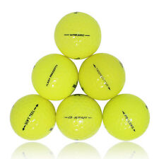 120 Premium Yellow Mix Near Mint AAAA Recycled Used Golf Balls