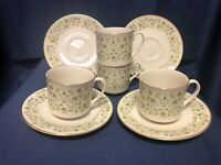 Royal Doulton WESTFIELD set of 4 cups and saucers