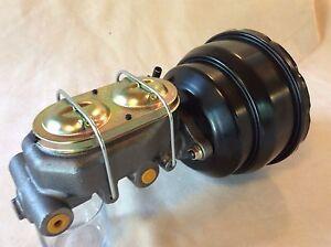 """1957-72 Ford F100 8"""" power brake booster 4 port master cylinder"""