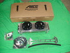99-04 F-150 Lightning double pass AFCO heat exchanger intercooler with fans