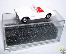 MICRO PRALINE HO 1/87 CHEVY CHEVROLET CORVETTE 1957 CABRIO APERTO BIANCO BOX 1