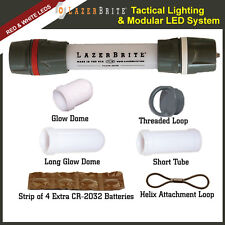 LazerBrite® Tactical Light System - Red & White LED -  Dual Removeable Heads